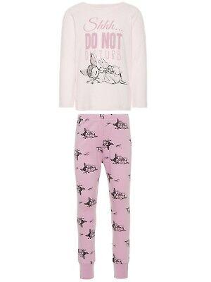 So süss - Name it Mädchen Schlafanzug Pyjama Disney Bambi NMFBAMBI  92 bis 110 ()