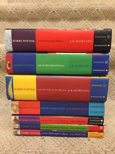 Mixed set of Harry Potter books