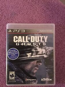 Call of duty-Ghosts  PS3 CD $8 only