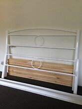 Double Bed Frame White  Ourimbah Wyong Area Preview
