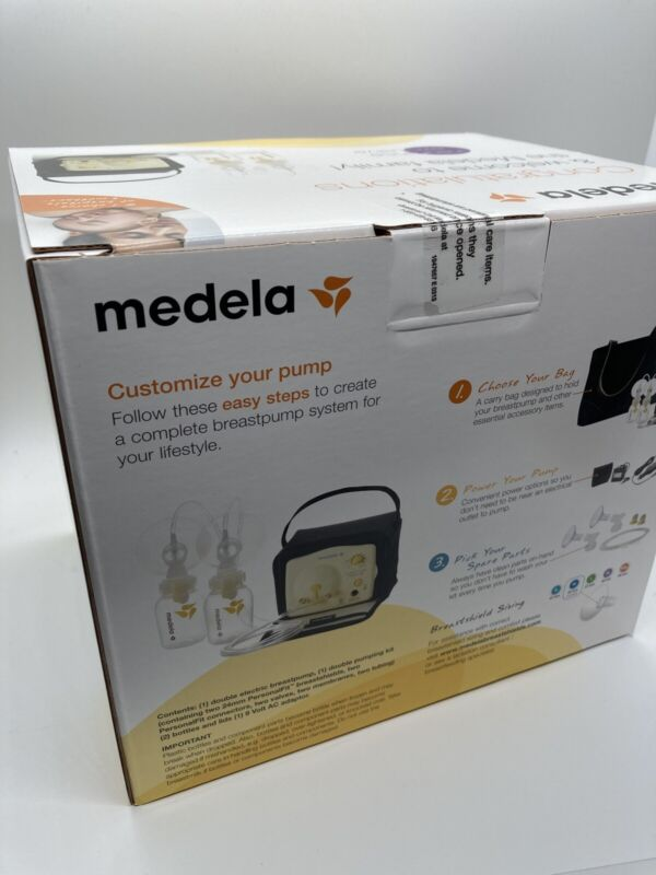 NEW MEDELA Advanced Personal Double Breast Pump Set  SEALED free shipping