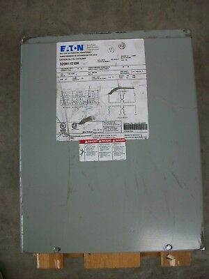 Eaton Dry-type Distribution Transformer Model S20n11s10n - New Wscuffs