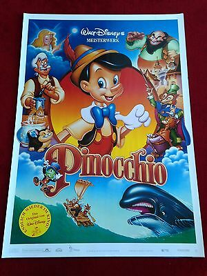 Pinocchio Kinoplakat Poster A1, Walt Disney
