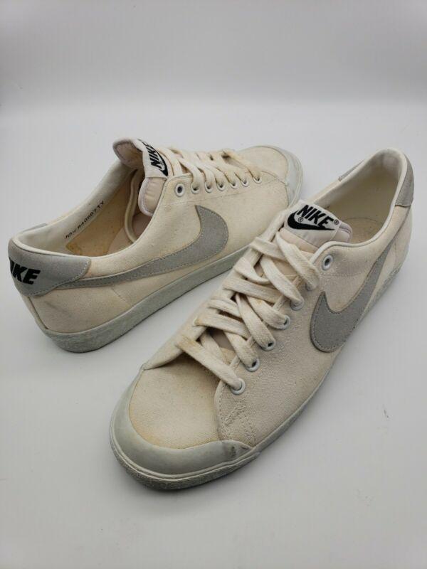 Vtg Nike Blazer, Canvas, All Court Master, 840507TY, Made In Korea, NOS, Sz 10.5