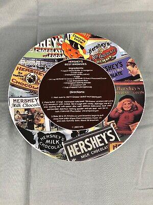 HERSHEYS BEST BROWNIES 2002 COLLECTORS PLATE WITH RECIPE Great