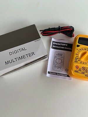 Peakmeter Mas830l Digital Multimeter Ac Dc Voltage Dc Current Multitester