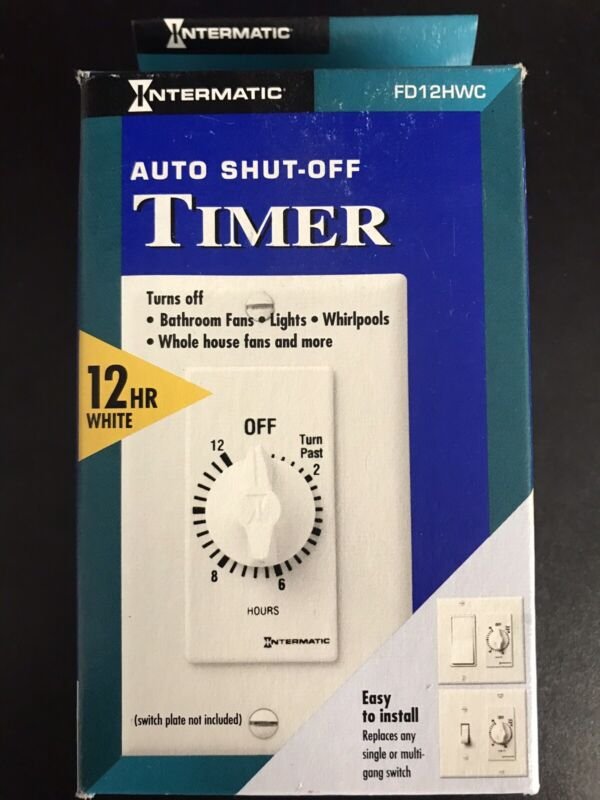 INTERMATIC FD12HWC Timer,Spring Wound,12 Hour New In Box