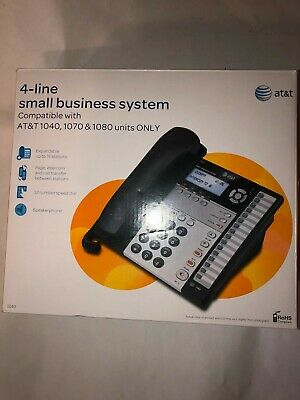 Att 4-line Small Business System Compatible With Att 1040 1070 1080 Units