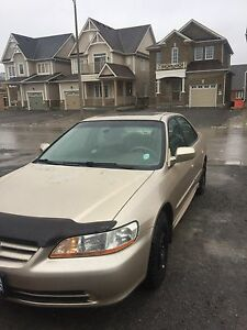 2002 Honda Accord EX Leather interior