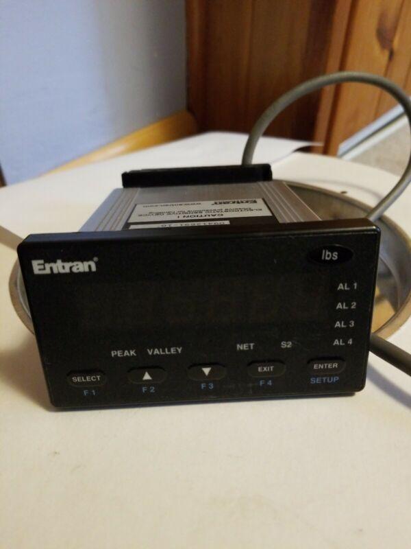 Entran MM50 Digital Process Meter for Load Cell or Strain Gauge