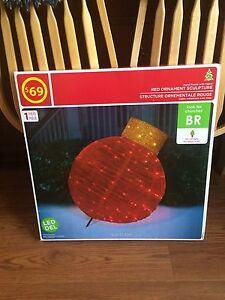 "36"" Christmas ornament"
