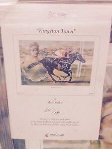 Limited Edition Racehorse Print Mandurah Mandurah Area Preview