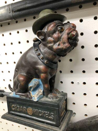 Ole Duffer - Metal (cast iron ?)  Bulldog bank
