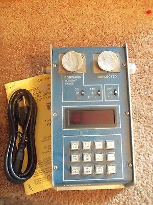 Bird 43 4391M Thruline Watt Meter PEP-Dual Element, Power Analyst