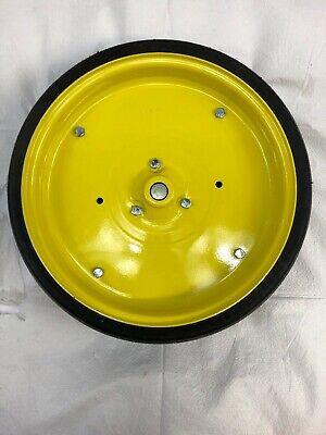 Ct N019 Rubbersteel Idler Wheel With Shaft Bearing Fits John Deere Ct