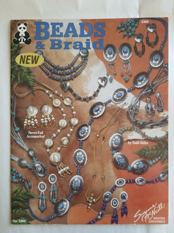 Beads and Braid Suzanne McNeill Design Bead Jewelry Braided Cord Southwest