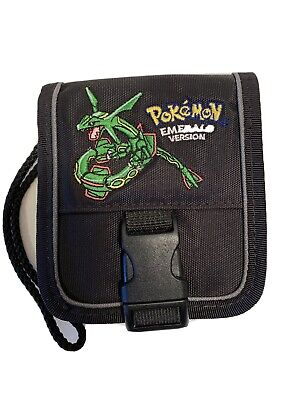 Game Boy Advance SP Carrying Case - Pokemon Emerald Version