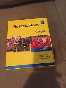 Rosetta Stone French Level One, never used!!