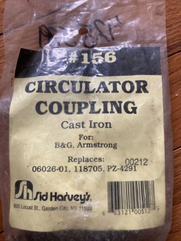 Sid Harvey #156 Circulator Coupling for B&G, Armstrong
