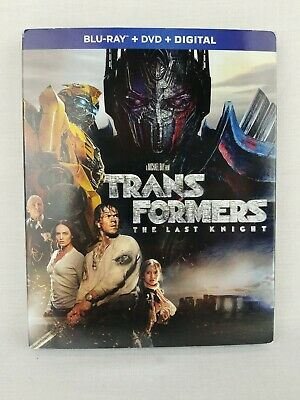 Brand New Transformers: The Last Knight Blu-ray + DVD + Digital