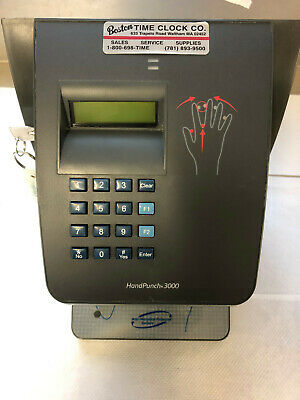 Schlage Hp-3000 E Biometric Handpunch Recognation Time Clock