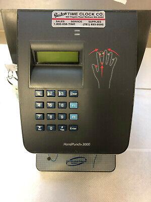 Schlage Hp-3000 E Biometric Handpunch Recognation Time Clock