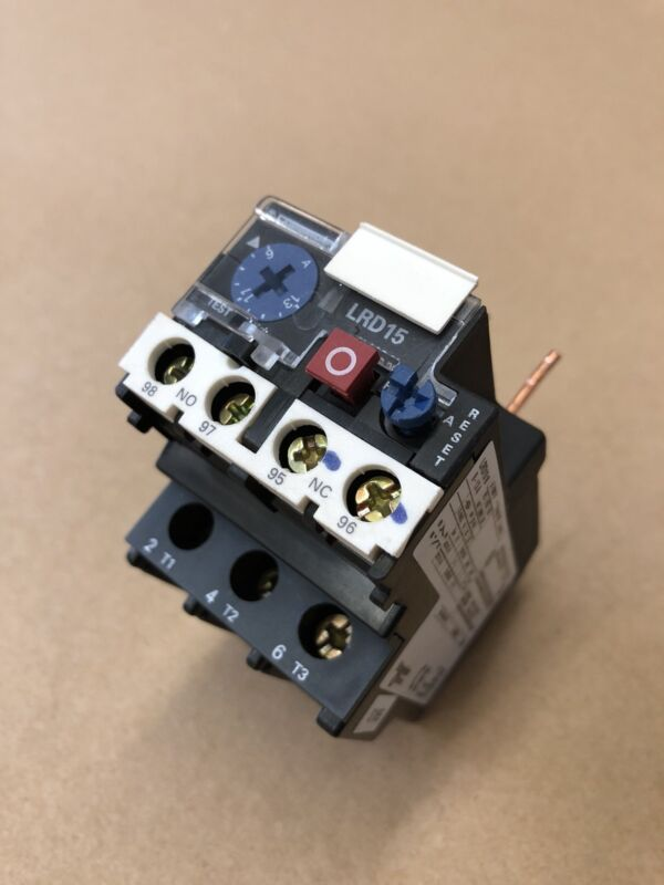 Schneider Electric LRD1516, 600 Volt, 13 Amp, 3 Pole, Thermal Overload Relay