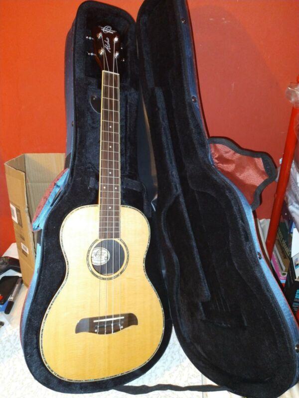 Oscar Schmidt Acoustic Guitar + Case Vgc Washburn / Oloha / Lap Guitar Gig