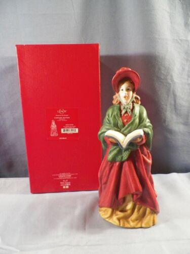 "Lenox Carolers Mother Figurine w/ Box 10"" Tall"