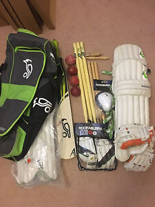 Youth cricket set - includes kookaburra kahuna 200 new items McDowall Brisbane North West Preview