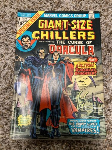 Giant Size Chillers #1 - First Lilith - Marvel Comics - Horror -