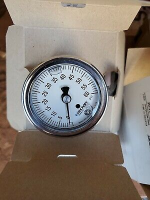 Ashcroft 25-1009-swl-02b-3000-xff Duralife 2-12in 0-3000psi Pressure Gauge