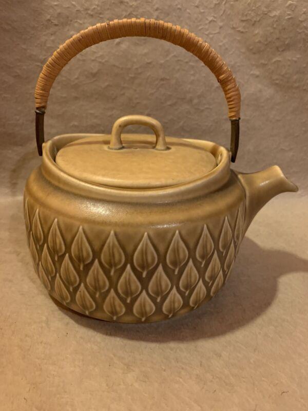 "Jens Quistgaard ""Relief"" Teapot Vintage MCM Stoneware Bing & Grondahl Denmark"