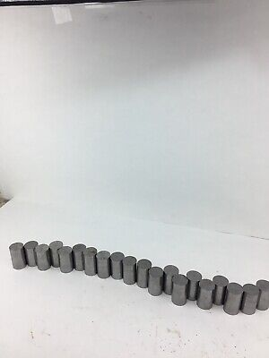 1 38 Solid 8620 Steel Round Bar Stock Shaft Blacksmith Lathe Lot Of 20