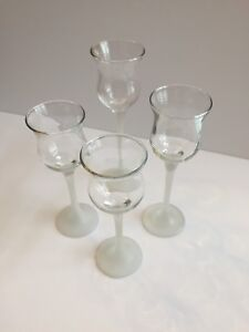 FOR SALE:  PARTYLITE GLASS TEALIGHT CANDLE HOLDERS