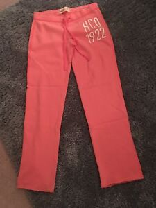 Pink Hollister sweatpants