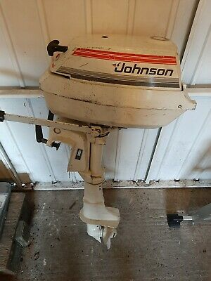 Johnson 2 Cylinder Outboard Boat Engine