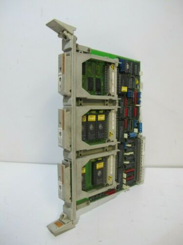 Siemens 6FX1120-2CA01 Sinumerik PC Board Memory Card Holder w Cards  PLC Module