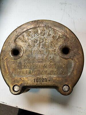 Hanau Varsity Upper Ejector Type Bronze Flask - Denture Dentistry Equip.