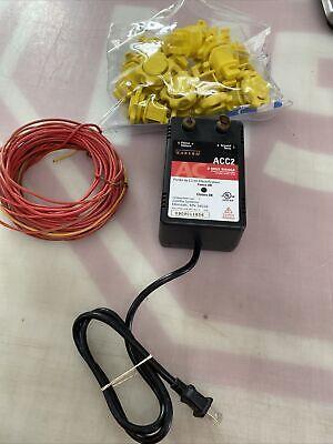Zareba Acc2 2-mile Electric Fence Controller Wire Western Screw Tight Insulator