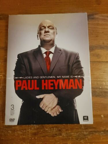WWE Paul Heyman DVD 3 Disc Set Used ECW - $10.00