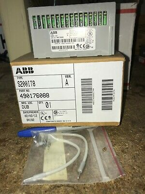 Abb Type S200-it8 Pn 490176088 Thermocouple Input 8 Channel