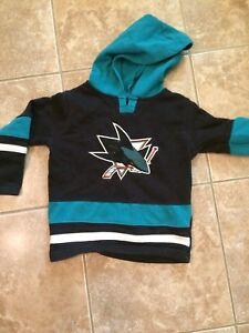 Chandail 4ans NHL Sharks