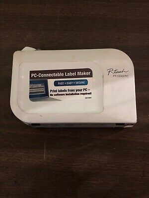 Brother P-touch Model Pt-1230pc Usb Label Maker