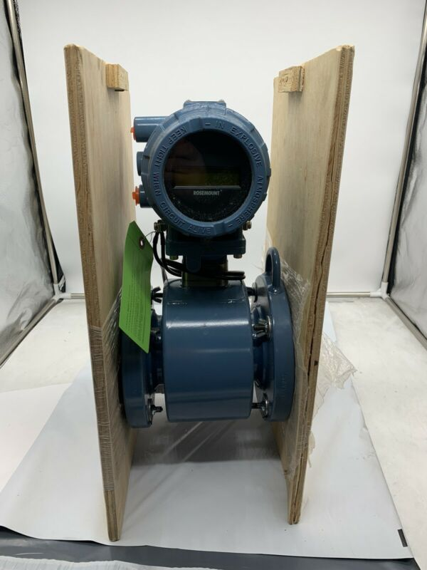 """3"""" 8705 FHA Emerson Rosemount Magnetic Flow Meter 8732E Transmitter *"""