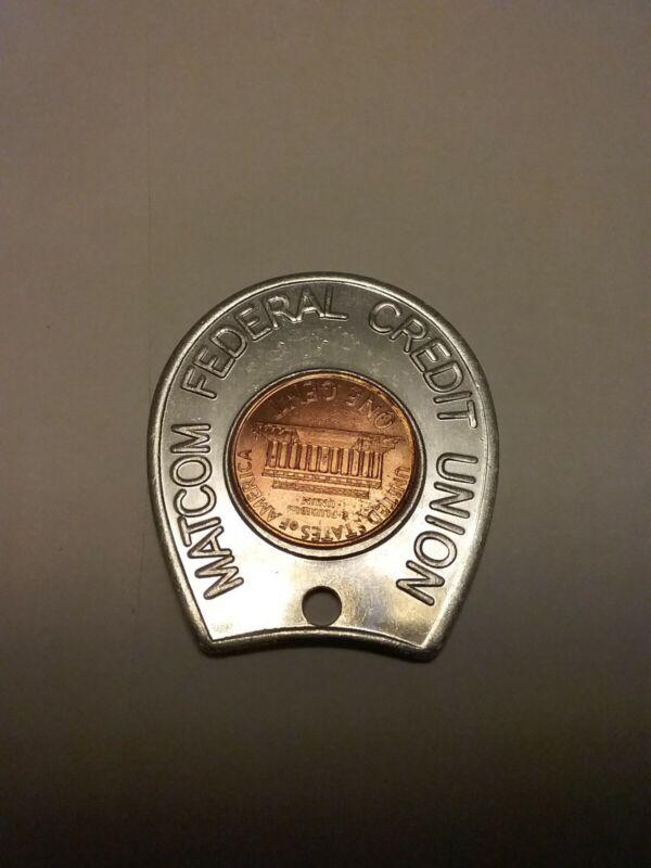 Lot Of 8 Encased Pennies Penny