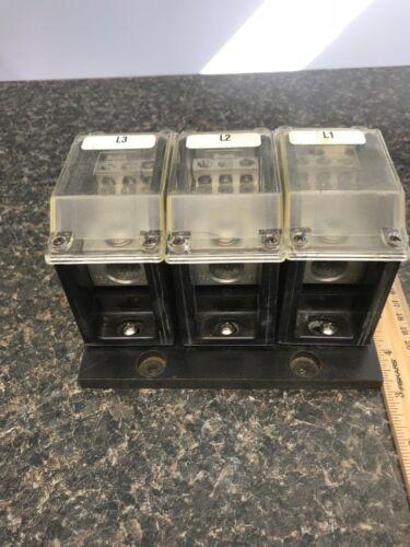 BUSSMANN PDB371-3- 310AMP, 600V, POWER DISTRIBUTION BLOCK