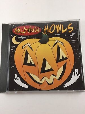 Spooky Sounds Cd Halloween (CD Halloween Howls Spooky Sounds Chilling Music)