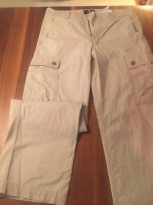 Timberland Jeans Ranger Hose Beige / Cremeweiss Größe 32 Neuwertig, Herren Hose