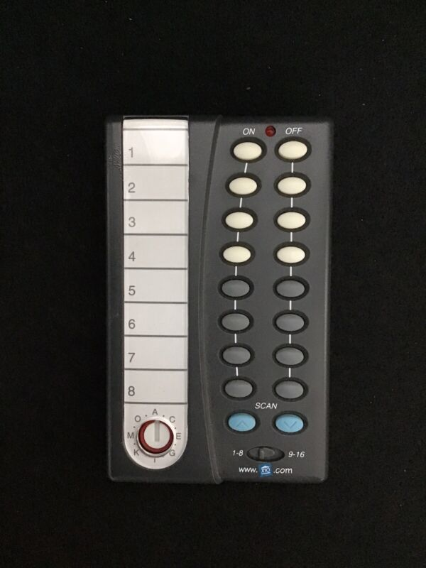 X-10 PowerHouse Home Automation - CAMERA CONTROL SYSTEM REMOTE CONTROL CR12a